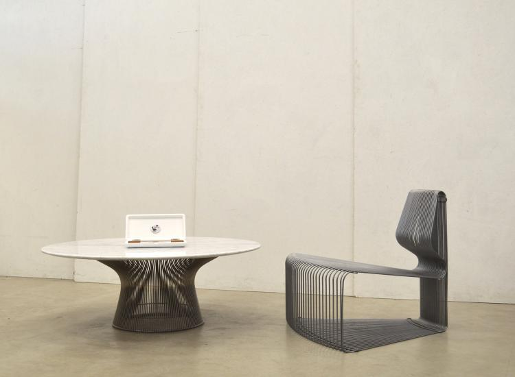 Warren Platner Coffee Table Couchtisch Marmor Interior Aksel Designklassiker Furniture Design