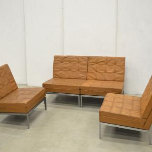 Florence Knoll Model 65 Bench Chair Cognac Knoll Interior Aksel Aachen Design Buy Sell Furniture