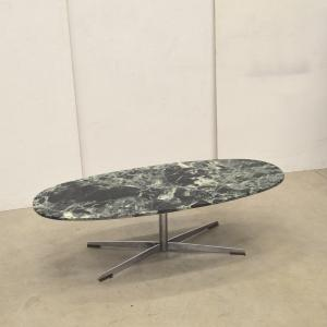 Florence Knoll Coffee Table Marmor Verde Alpi Marble Interior Aksel Aachen Designklassiker