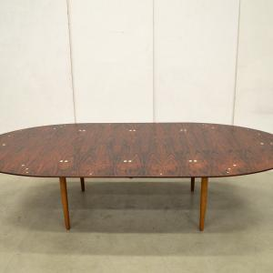 Important Finn Juhl Judas Table Illums Bolighus FJ49 Interior Aksel Aachen Design Paris Classics